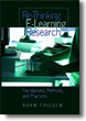 book cover Re-thinking E-learning Research