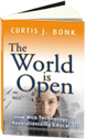 book cover for The World is Open