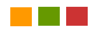 colour squares to depict brainstorming groups