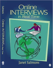 book cover - Online Interviews in Real Time