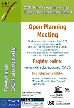 Open Planning Meeting poster