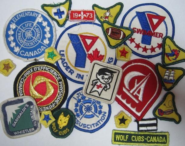 A good mix of badges
