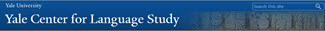 Yale University - Online Tools