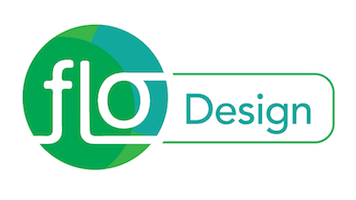 FLO Design logo