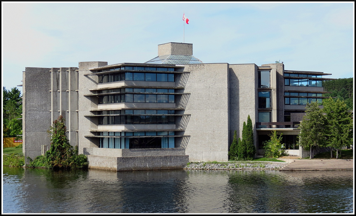 Riverside View of Bata Library