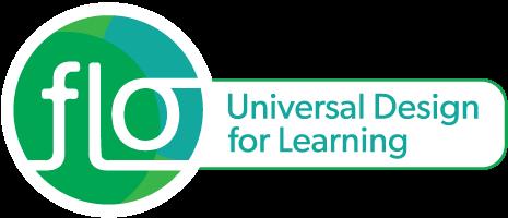 FLO banner for universal design for Learning