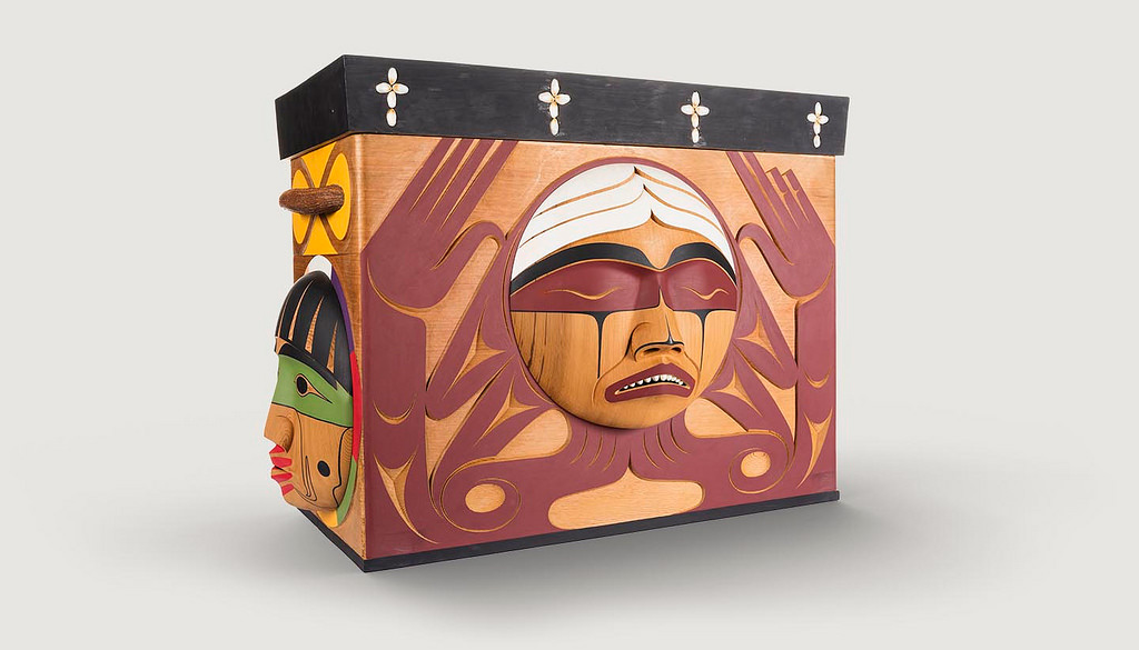 bentwood box TRC by Luke Martin